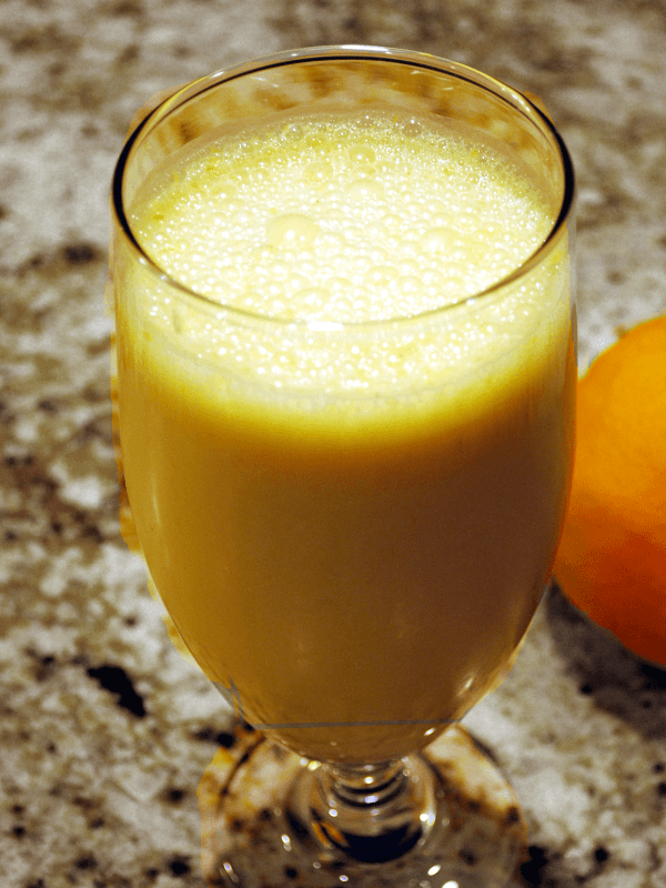 Orange Creamsicle Smoothie Image