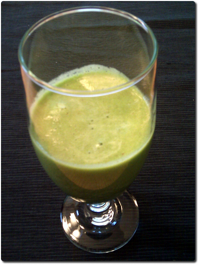Spinach Apple Banana Smoothie Image