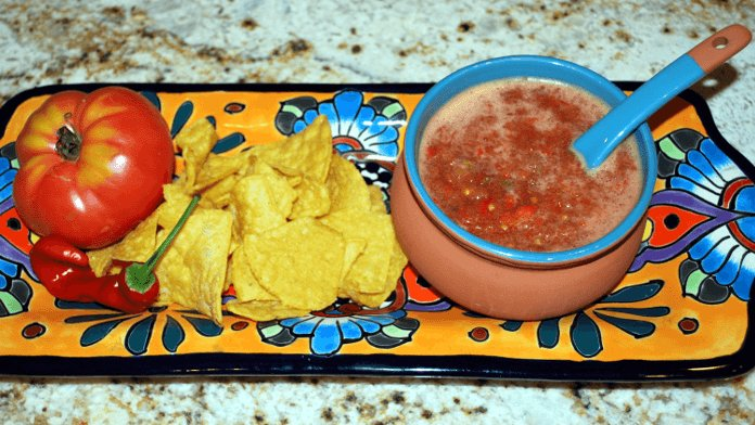 Tomato and Onion Salsa Image